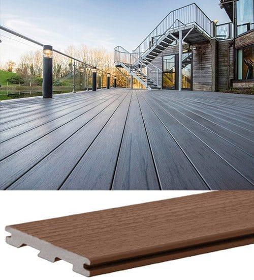 Nouvelles lames de terrasse en bois composite TimberTech