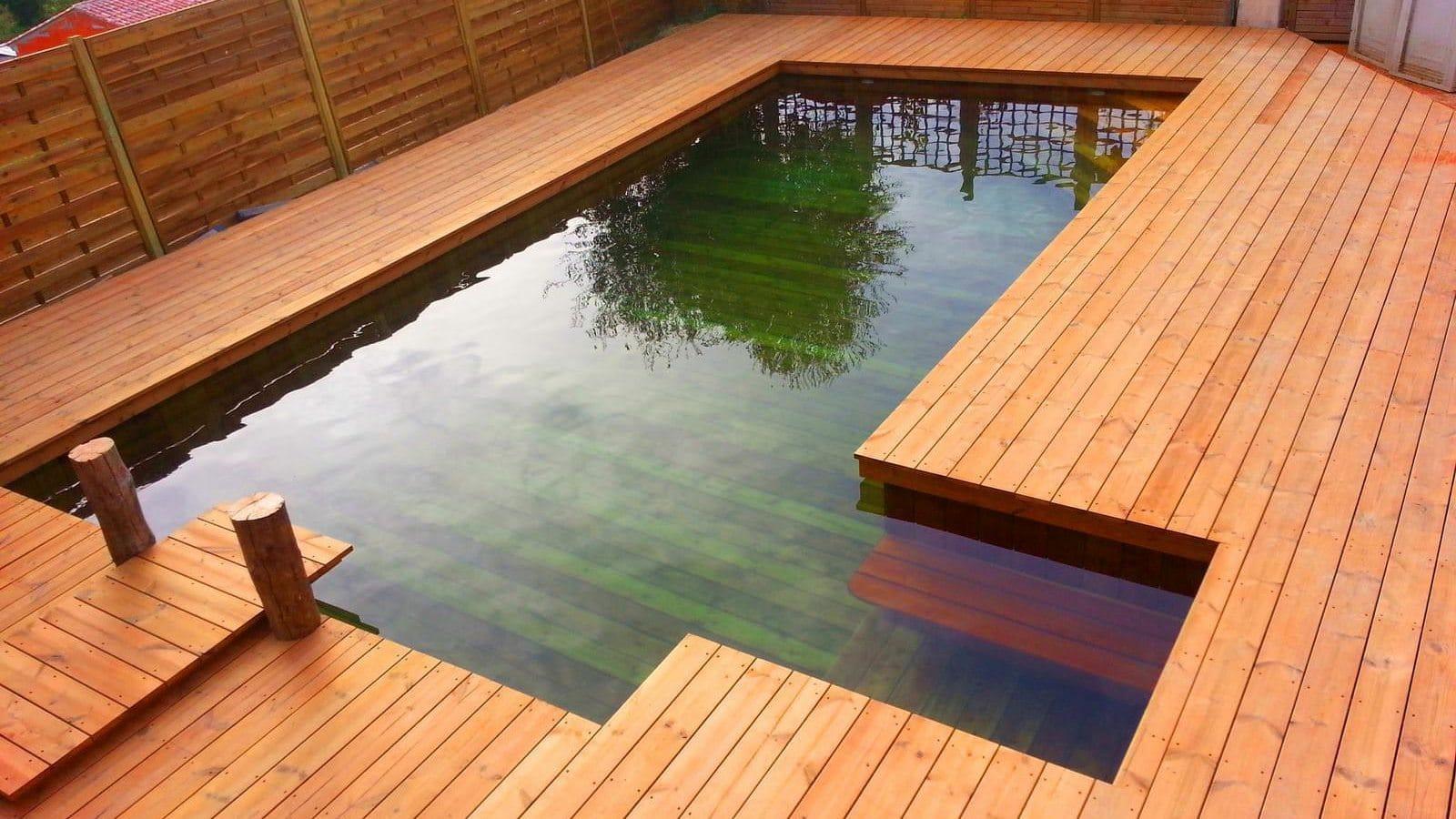 Odyssea la piscine tout bois qui monte id es piscine for Odyssea piscine