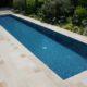 Couloir de nage réalisé avec le procédé Leader Pool