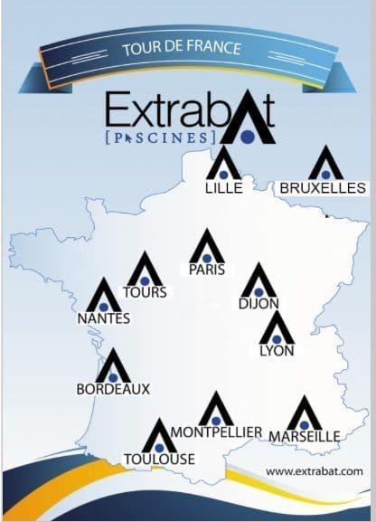 Tour de France des formations Extrabat