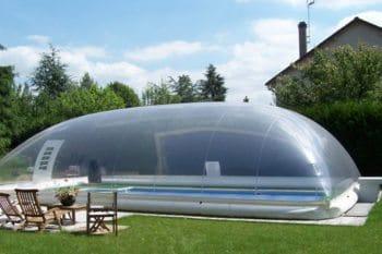 Abri de piscine gonflable Aero