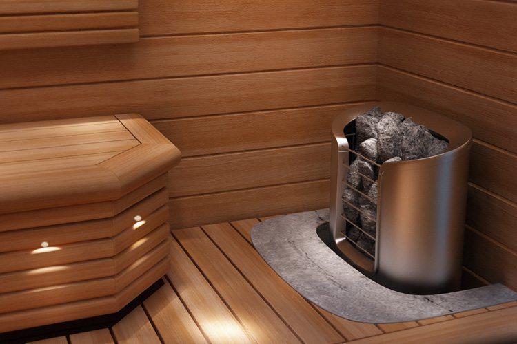 Poêle Helo pour sauna