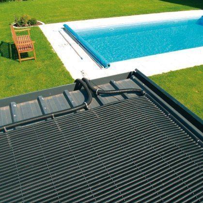 Chauffage solaire de piscine