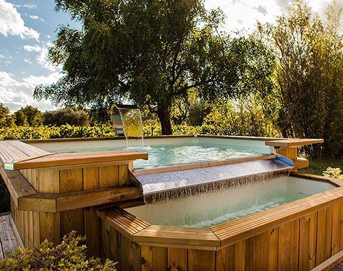 Bluewood piscines hors sol bois id es piscine for Piscine kit beton hors sol
