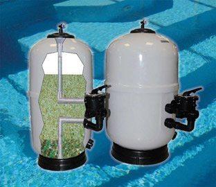 Astralpool m dia filtrant en verre id es piscine for Filtre piscine verre