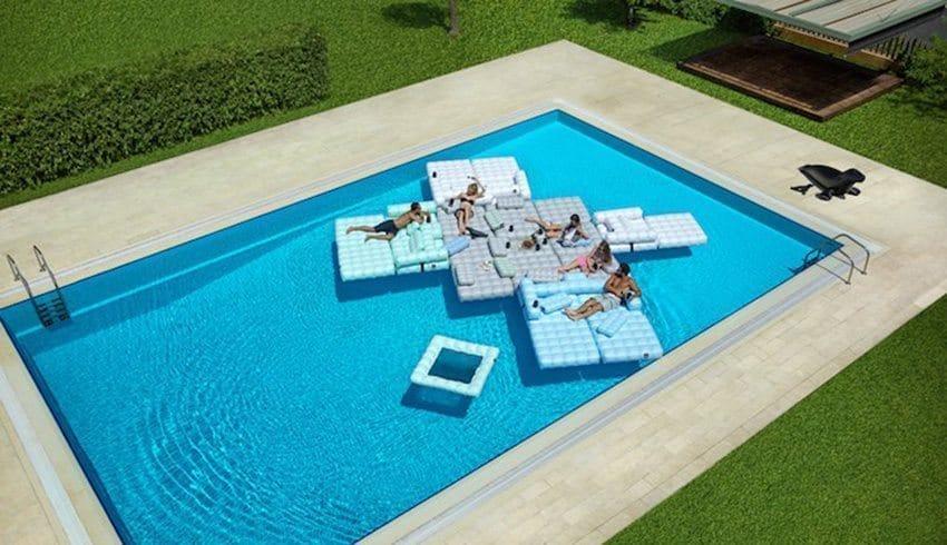 Mobilier flottant - Idées Piscine
