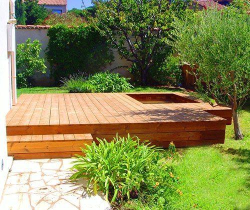 Mini piscines en bois int rieur et ext rieur id es piscine for Piscine bois interieur