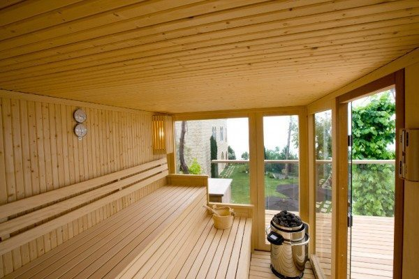 Sauna sur mesure Tylö