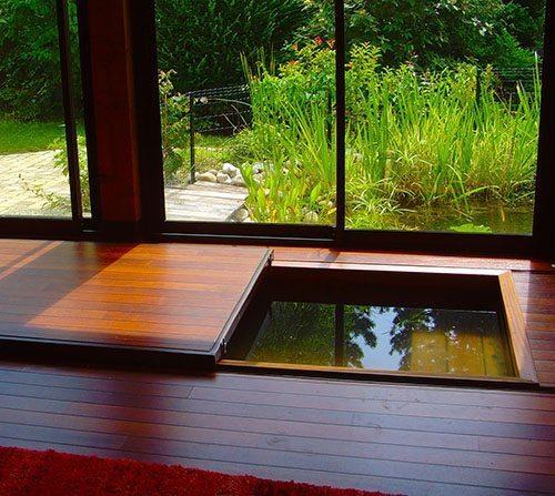 spa intrieur en bois