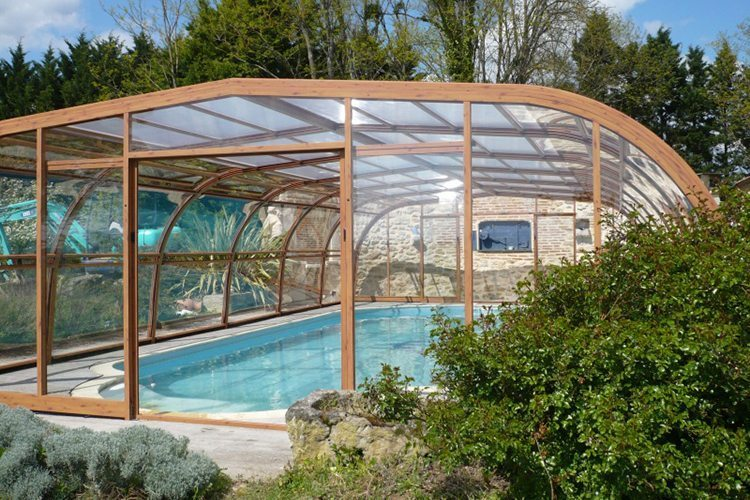 Abris id es piscine for Pieces detachees pour abri de piscine