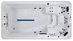 Le spa de nage Sylver 810 vient compléter la gamme de Blue Lagoon Spas