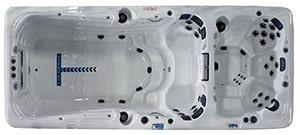 SCP intègre une nouvelle gamme de spas de nage GL Premium
