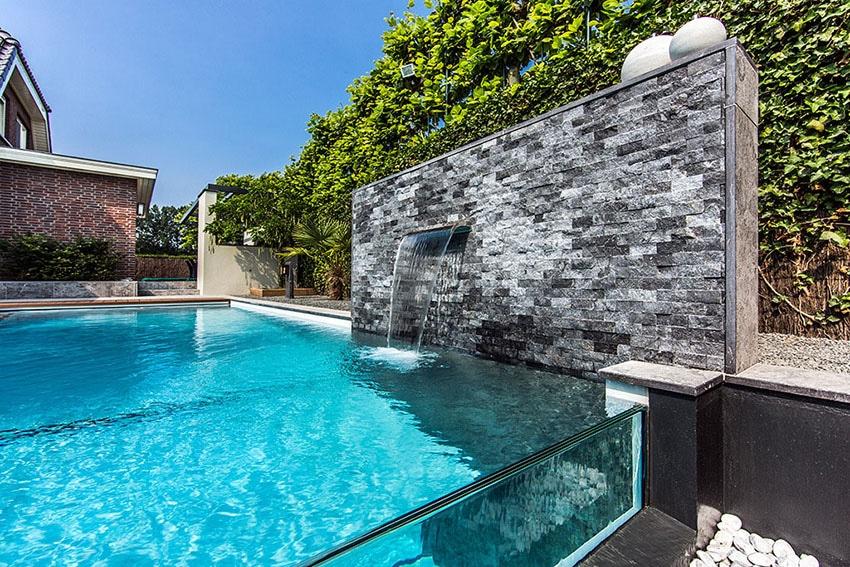 Favorit 10 belles piscines à parois de verre, sur un ou plusieurs côtés LJ74
