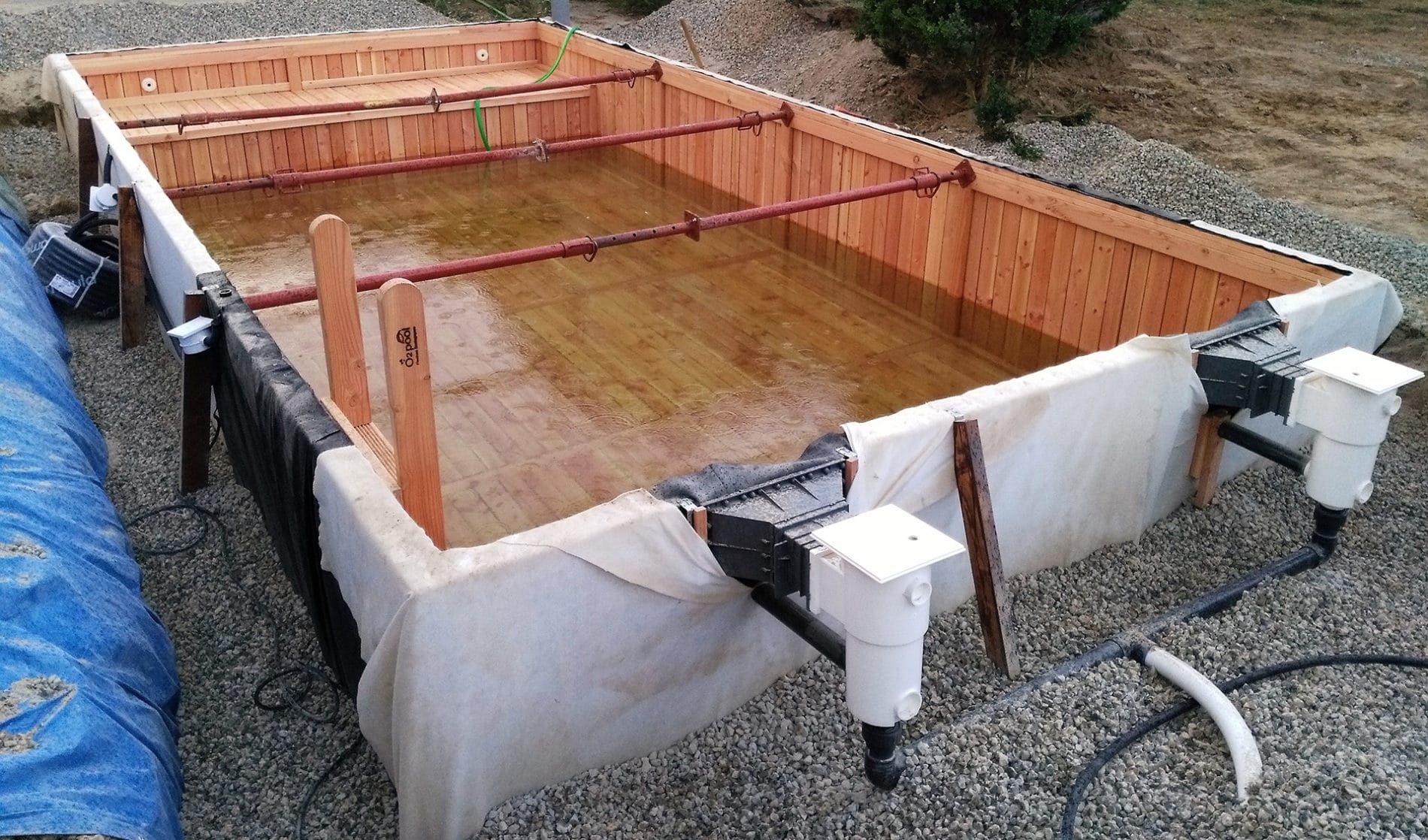 piscine bois - O2Pool