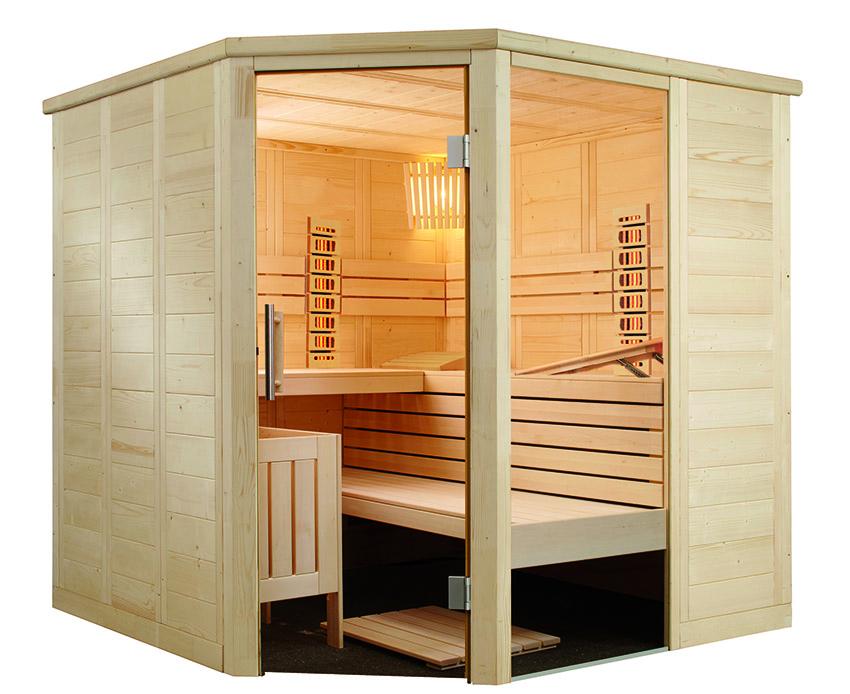 sauna Alaska de Sentiotec