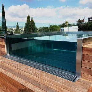 Spas de nage inox