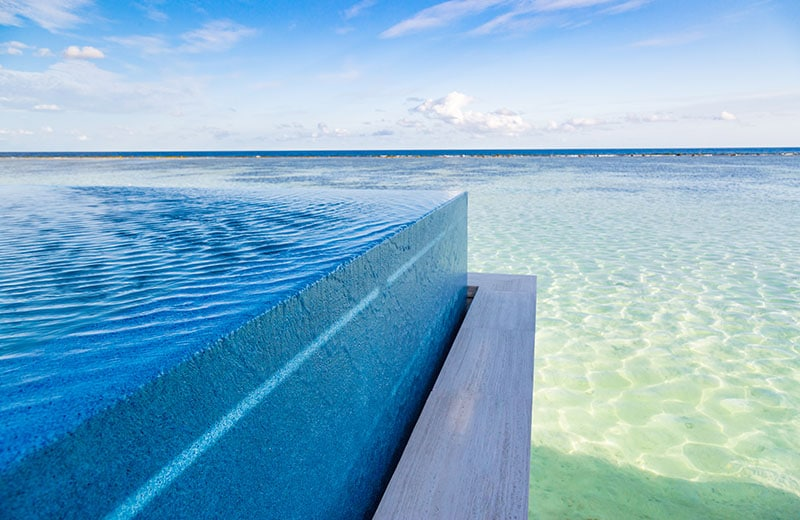 Idées piscines à débordement