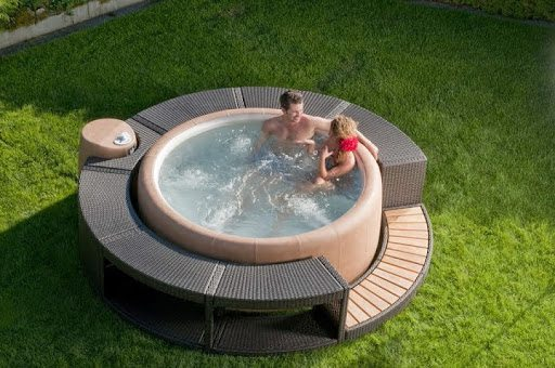 Spa gonflable Softub