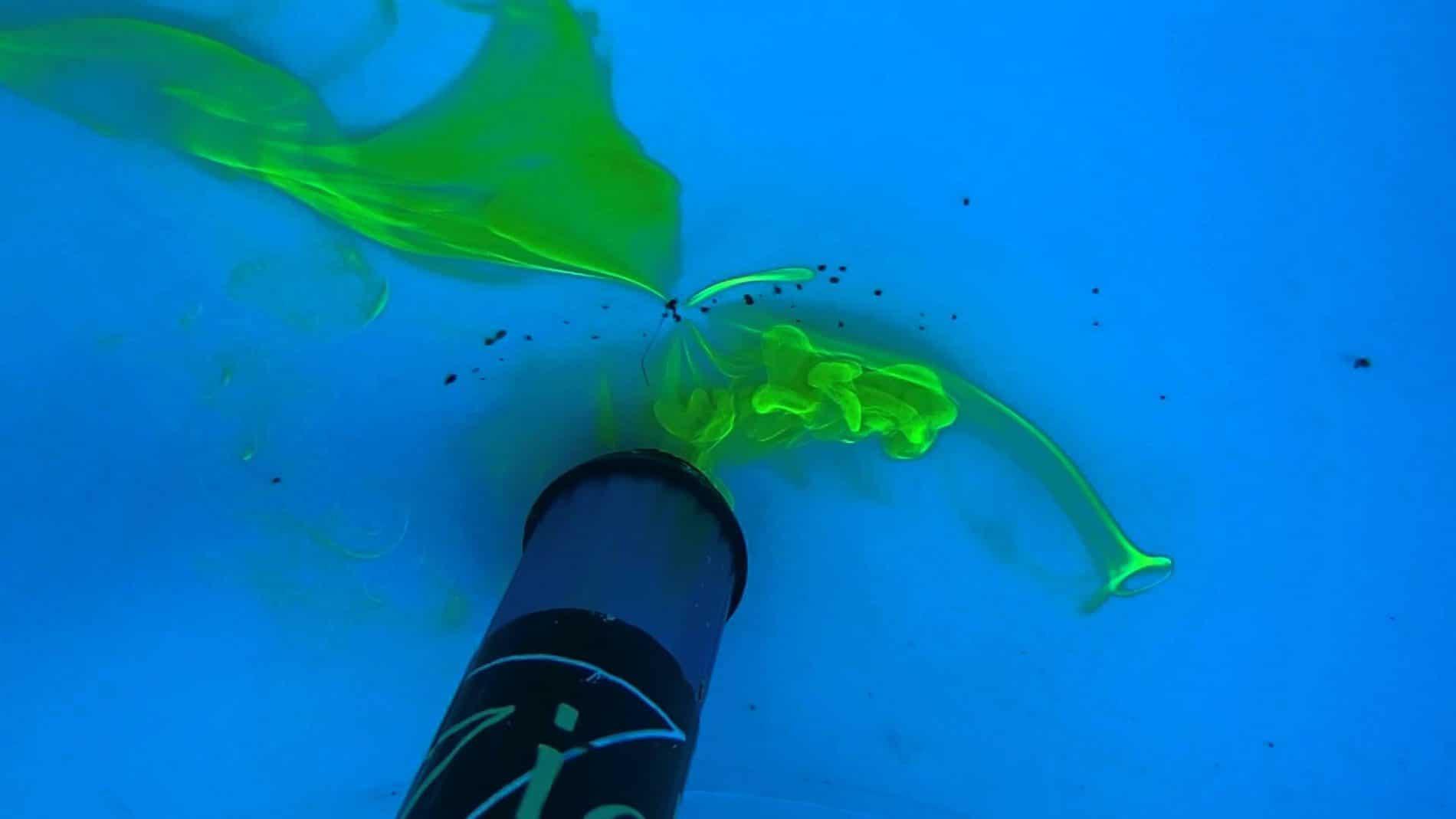 Recherche de fuite dans la piscine