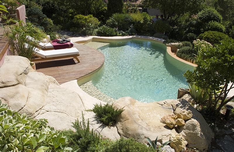 piscine paysagée