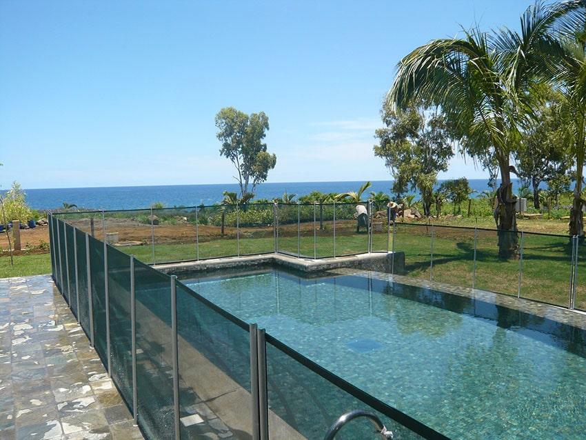 Barrière de piscine souple