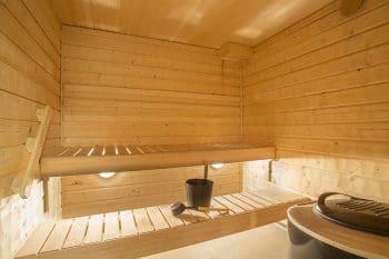 Entretien du sauna