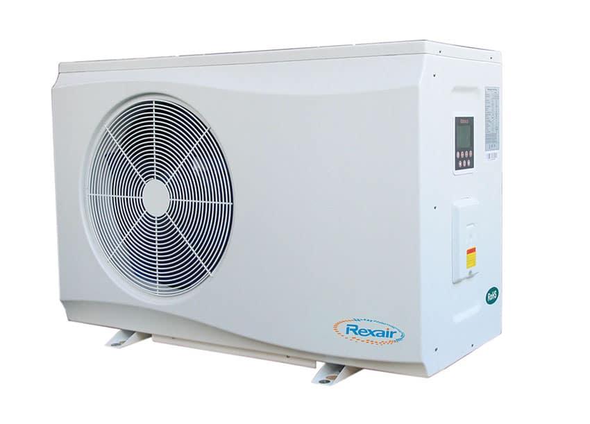 Nouvelle gamme de PAC dotée de la technologie Inverter.  Rexair DR