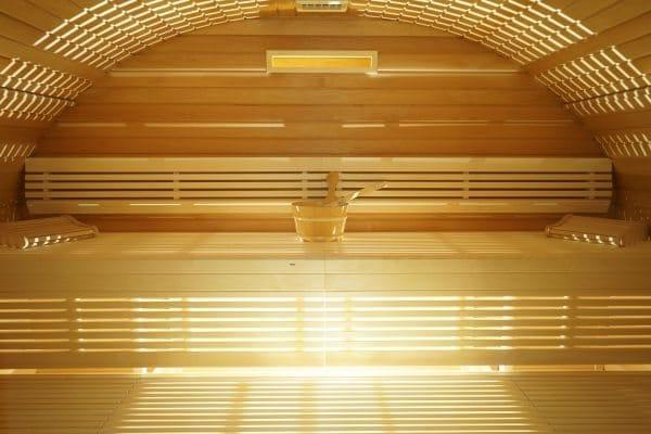 Sauna sur mesure en tremble