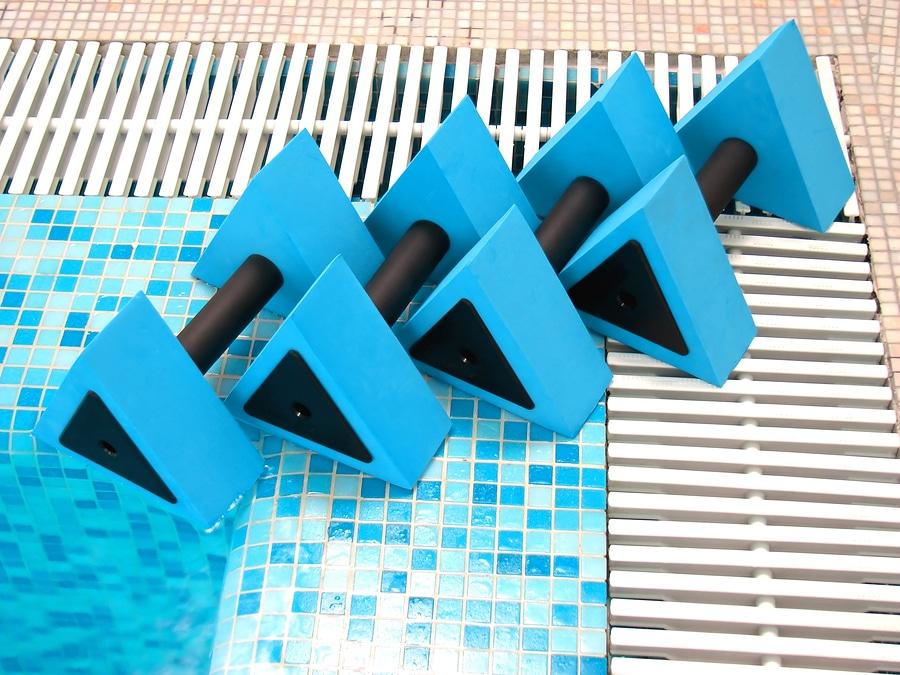 Haltères aquatiques