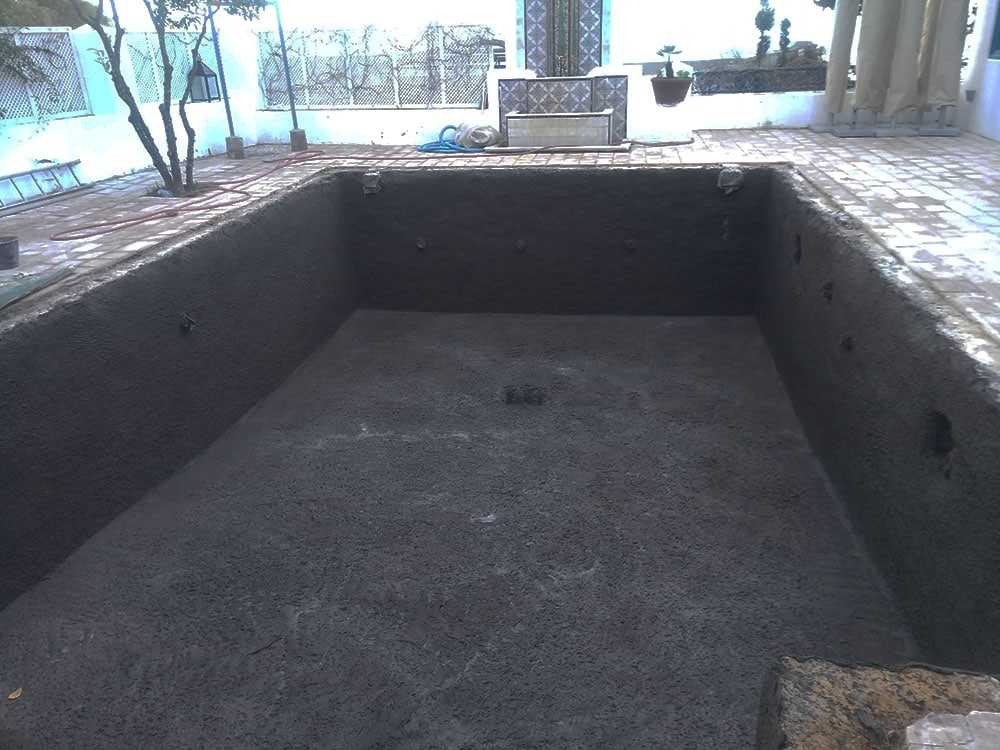 Rénovation de la piscine de l'Hôtel Dar Saïd par Reviglass
