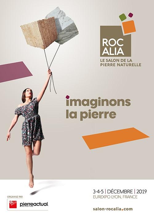 Affiche du salon Rocalia 2019