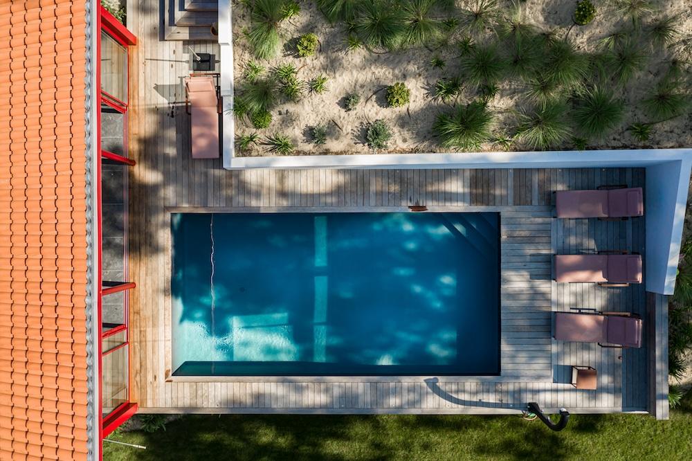 Piscine & pool house