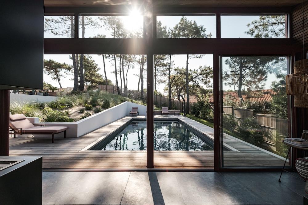 Vue du pool house