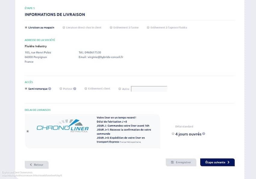 DEVISEUR SUR MESURE_Fluidra France_Process commande_4