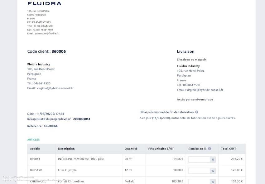 DEVISEUR SUR MESURE_Fluidra France_Process commande_5