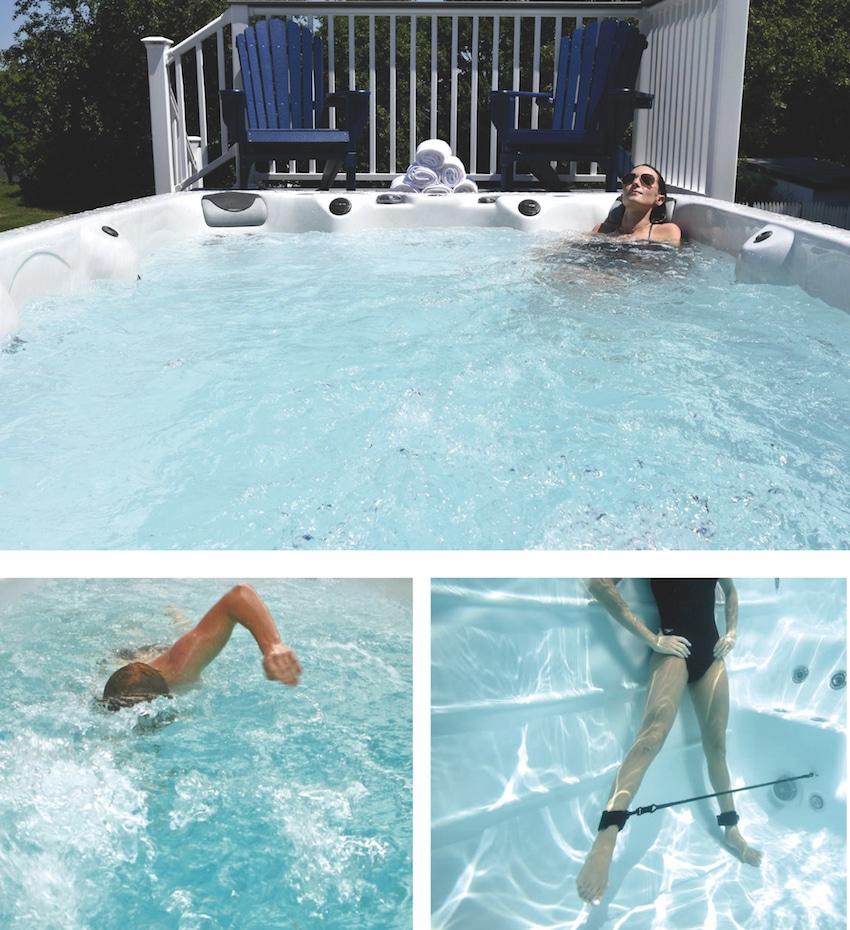 Spa de nage Aquilus