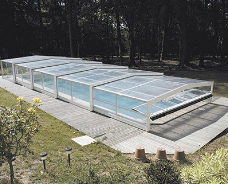 Abri piscine droit Triptik