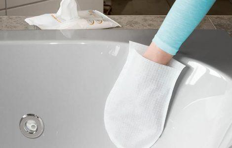 Gant de nettoyage pour spa